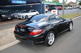 2015 Mercedes-Benz SLK250 R172 MY15 Black 7 Speed Automatic G-Tronic Convertible.