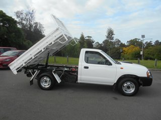 2013 Nissan Navara D22 Series 5 DX (4x2) White 5 Speed Manual Cab Chassis