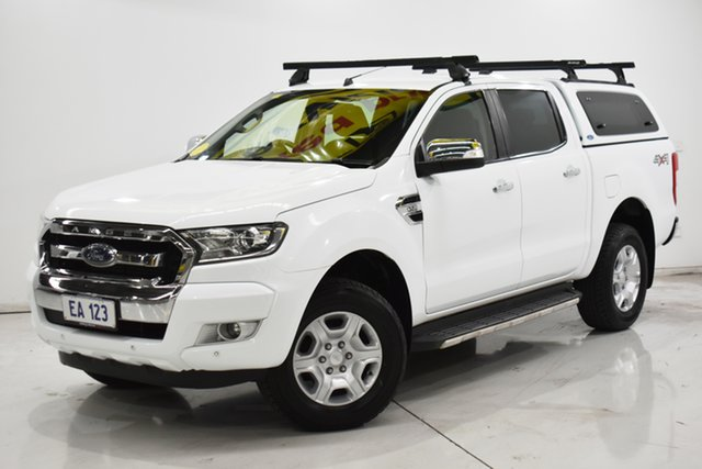 Used Ford Ranger PX MkII XLT Double Cab Brooklyn, 2017 Ford Ranger PX MkII XLT Double Cab White 6 Speed Sports Automatic Utility