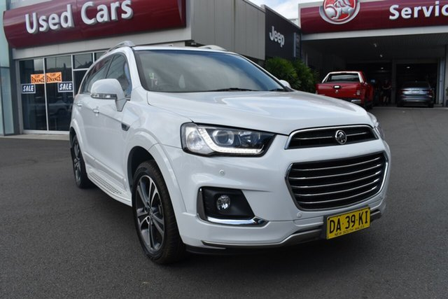 Used Holden Captiva CG MY17 LTZ AWD Gosford, 2017 Holden Captiva CG MY17 LTZ AWD White 6 Speed Sports Automatic Wagon