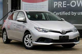 2018 Toyota Corolla ZRE182R Ascent S-CVT Silver Pearl 7 Speed Constant Variable Hatchback.