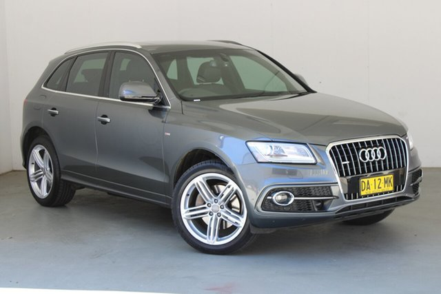 Used Audi Q5 8R MY16 TDI S Tronic Quattro Phillip, 2015 Audi Q5 8R MY16 TDI S Tronic Quattro Grey 7 Speed Sports Automatic Dual Clutch Wagon