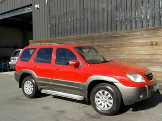 2007 Mazda Tribute MY2006 Red 4 Speed Automatic Wagon.