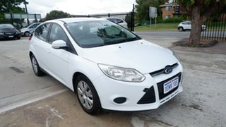 2013 Ford Focus LW MkII Ambiente PwrShift White 6 Speed Sports Automatic Dual Clutch Hatchback.