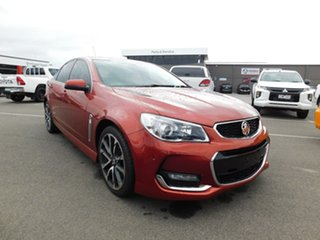 2015 Holden Commodore VF MY15 SS V Orange 6 Speed Manual Sedan.