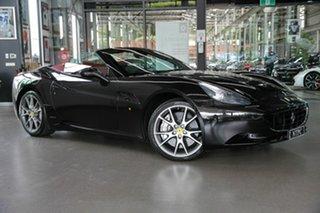 2011 Ferrari California F149 DCT Black 7 Speed Sports Automatic Dual Clutch Convertible.