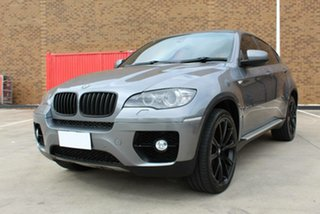 2009 BMW X6 E71 xDrive35D Grey 6 Speed Automatic Coupe