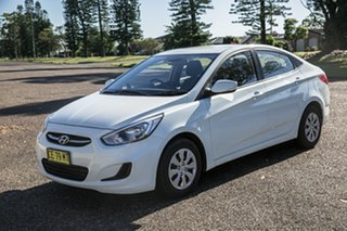 2015 Hyundai Accent RB2 MY15 Active 4 Speed Sports Automatic Sedan.