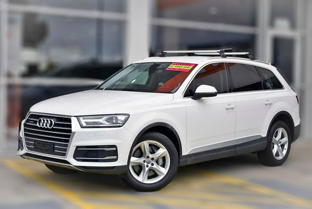 Used Audi Q7 4M MY18 TDI Tiptronic Quattro Berwick, 2018 Audi Q7 4M MY18 TDI Tiptronic Quattro White 8 Speed Sports Automatic Wagon