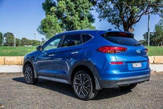 2018 Hyundai Tucson TL3 MY19 Elite 2WD Aqua Blue 6 Speed Automatic Wagon
