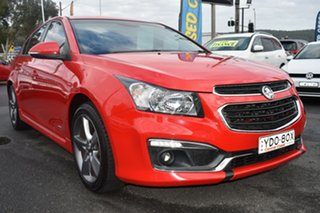 2016 Holden Cruze JH Series II MY16 SRI Z-Series Red 6 Speed Sports Automatic Sedan