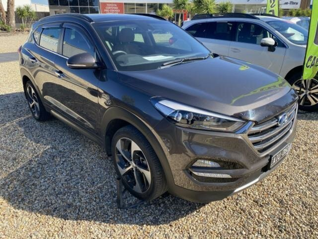 Used Hyundai Tucson TLE Highlander (AWD) Wangaratta, 2016 Hyundai Tucson TLE Highlander (AWD) Brown 7 Speed Auto Dual Clutch Wagon