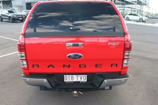 2014 Ford Ranger PX XLT Double Cab True Red 6 Speed Sports Automatic Utility