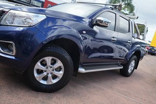 2015 Nissan Navara NP300 D23 ST (4x4) Blue 6 Speed Manual Dual Cab Utility.