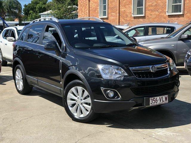 Used Holden Captiva CG MY15 5 LT Chermside, 2014 Holden Captiva CG MY15 5 LT Black 6 Speed Sports Automatic Wagon