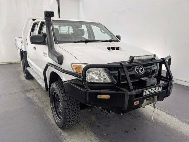 Used Toyota Hilux KUN26R MY07 SR Maryville, 2007 Toyota Hilux KUN26R MY07 SR White 5 Speed Manual Utility