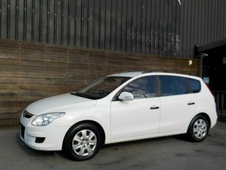 2010 Hyundai i30 FD MY10 SX cw Wagon White 4 Speed Automatic Wagon