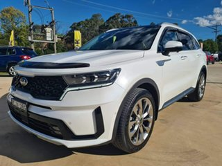 2020 Kia Sorento GT-Line Snow White Pearl Sports Automatic Dual Clutch Wagon.