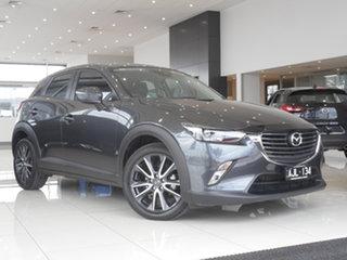 2017 Mazda CX-3 DK2W7A sTouring SKYACTIV-Drive Grey 6 Speed Sports Automatic Wagon.