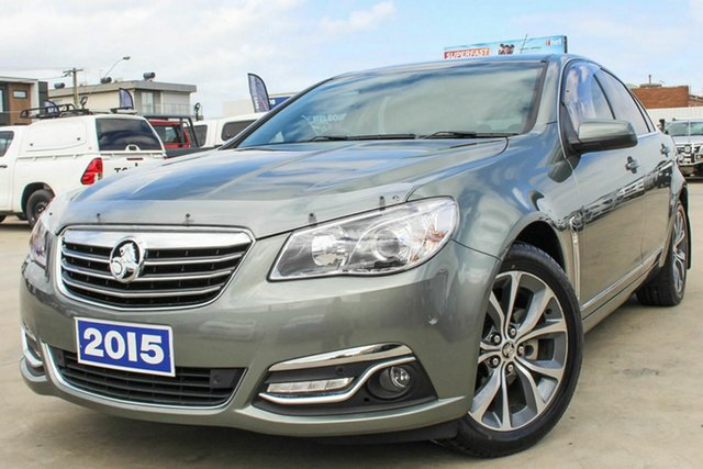 Used Holden Calais VF MY15 Coburg North, 2015 Holden Calais VF MY15 Grey 6 Speed Sports Automatic Sedan
