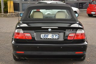 2006 BMW 3 Series E46 MY05 325Ci Steptronic Black 5 Speed Sports Automatic Convertible