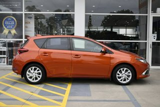 2016 Toyota Corolla ZRE182R Ascent Sport Orange 6 Speed Manual Hatchback