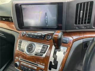 2008 Nissan Elgrand E51 Highway Star White Automatic Wagon