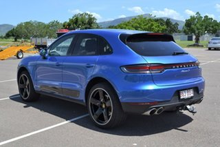 2019 Porsche Macan 95B MY19 S PDK AWD Blue 7 Speed Sports Automatic Dual Clutch Wagon