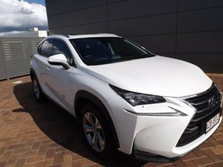 2017 Lexus NX AYZ15R NX300h E-CVT AWD Luxury White 6 Speed Constant Variable Wagon Hybrid.