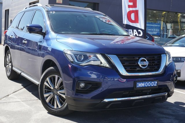Used Nissan Pathfinder R52 Series II MY17 ST-L X-tronic 2WD Phillip, 2018 Nissan Pathfinder R52 Series II MY17 ST-L X-tronic 2WD Blue 1 Speed Constant Variable Wagon