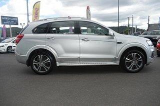 2016 Holden Captiva CG MY17 LTZ AWD Silver 6 Speed Sports Automatic Wagon.
