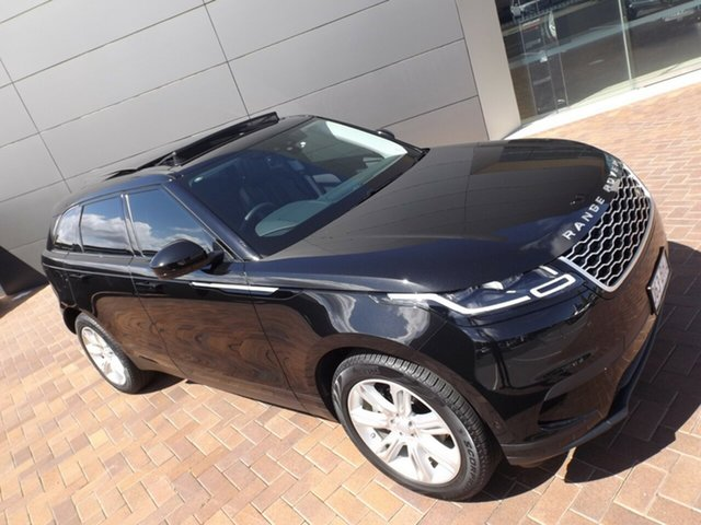 Used Land Rover Range Rover Velar L560 MY19.5 Standard SE Toowoomba, 2019 Land Rover Range Rover Velar L560 MY19.5 Standard SE Santorini Black 8 Speed Sports Automatic