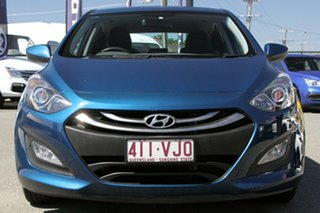 2014 Hyundai i30 GD2 Active Dazzling Blue 6 Speed Sports Automatic Hatchback
