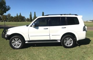 2014 Mitsubishi Pajero NW MY14 Exceed White 5 Speed Sports Automatic Wagon