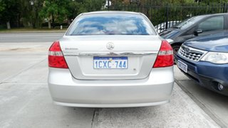 2008 Holden Barina TK MY08 Silver 5 Speed Manual Sedan