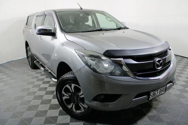 Used Mazda BT-50 UR0YF1 XTR Wayville, 2015 Mazda BT-50 UR0YF1 XTR Aluminium 6 Speed Sports Automatic Utility