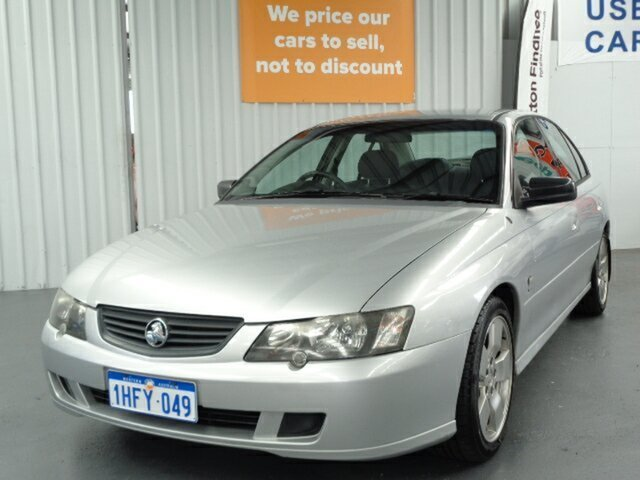 Used Holden Commodore VY II SV8 Rockingham, 2003 Holden Commodore VY II SV8 Silver 4 Speed Automatic Sedan