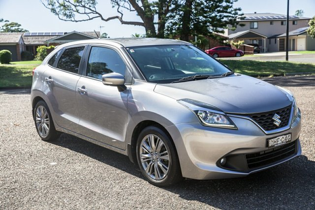 Used Suzuki Baleno EW GL Port Macquarie, 2016 Suzuki Baleno EW GL Silver 4 Speed Automatic Hatchback