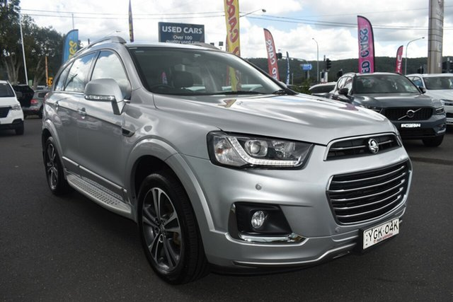 Used Holden Captiva CG MY17 LTZ AWD Gosford, 2016 Holden Captiva CG MY17 LTZ AWD Silver 6 Speed Sports Automatic Wagon