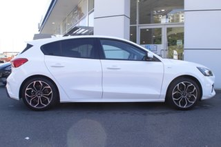 2019 Ford Focus SA 2019.75MY ST-Line White 8 Speed Automatic Hatchback.