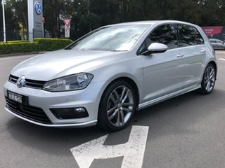 2016 Volkswagen Golf VII MY17 110TSI DSG Highline Silver 7 Speed Sports Automatic Dual Clutch