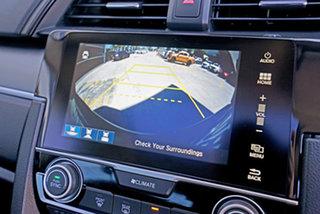 2017 Honda Civic 10th Gen MY16 VTi-LX Grey 1 Speed Constant Variable Sedan