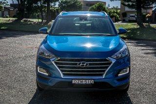 2018 Hyundai Tucson TL3 MY19 Elite 2WD Aqua Blue 6 Speed Automatic Wagon.