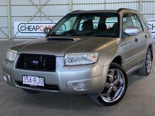 2005 Subaru Forester 79V MY05 XT AWD Silver 4 Speed Automatic Wagon.