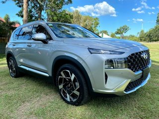 2020 Hyundai Santa Fe Tm.v3 MY21 Elite DCT Typhoon Silver 8 Speed Sports Automatic Dual Clutch Wagon.