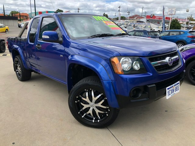 Used Holden Colorado RC MY09 LX (4x2) Victoria Park, 2008 Holden Colorado RC MY09 LX (4x2) Blue 5 Speed Manual Crew Cab Pickup