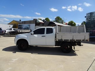 2017 Isuzu D-MAX MY17 SX Space Cab White 6 Speed Manual Cab Chassis
