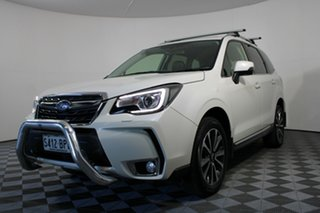 2017 Subaru Forester S4 MY17 XT CVT AWD White 8 Speed Constant Variable Wagon.