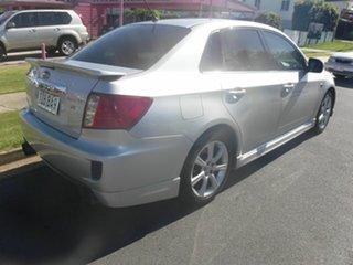 2010 Subaru Impreza G3  RS Silver 5 Speed Automatic Sedan.