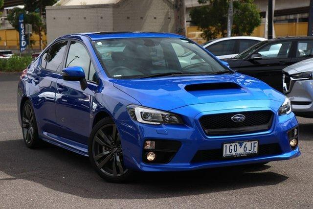 Used Subaru WRX V1 MY16 Premium AWD South Melbourne, 2016 Subaru WRX V1 MY16 Premium AWD WR Blue 6 Speed Manual Sedan